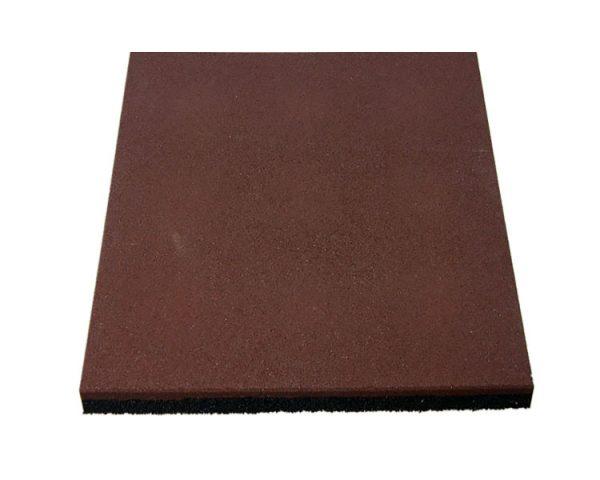 Резиновая плитка 500х500х20